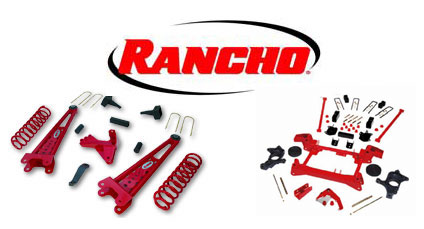Rancho Lift Kits >> Rancho Suspension Lift Kits Shockwarehouse Com