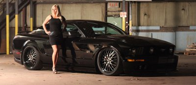 Air Lift Ford Mustang Suspension