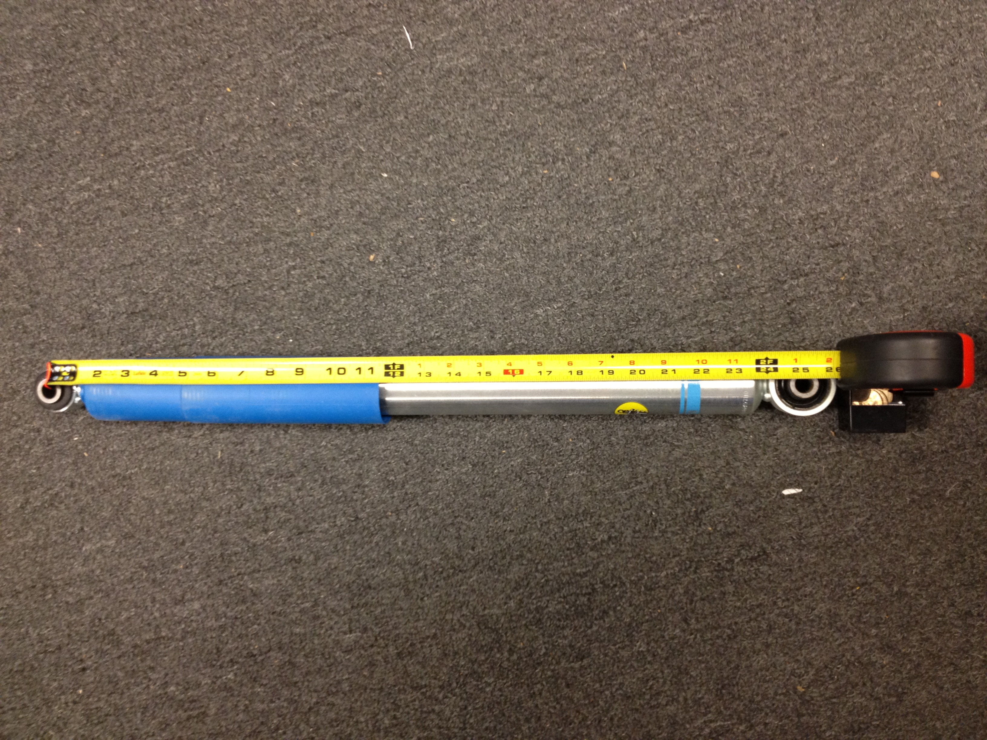 bilstein shock length chart - Bingo.raindanceirrigation.co