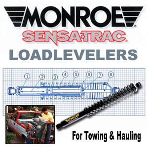 58578 Monroe Loadleveler Pair GM Trucks