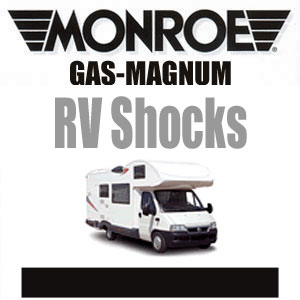 555043 Monroe RV Front GasMagnum Ford GM More Ryde Chassis