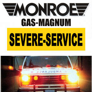 550011 Monroe Severe Service Crown Vic